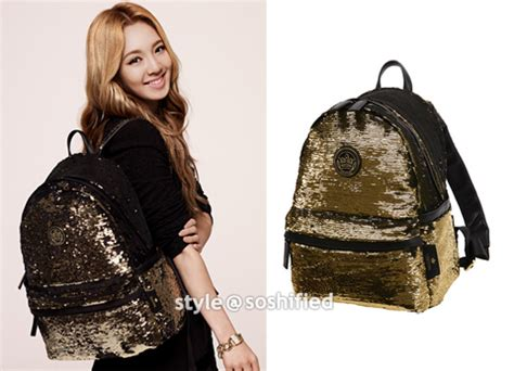 J Estina Flora Backpack soshified styling yoona