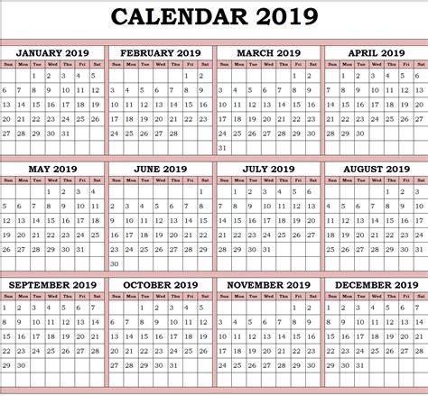 yearly calendar  paper worksheets calendar