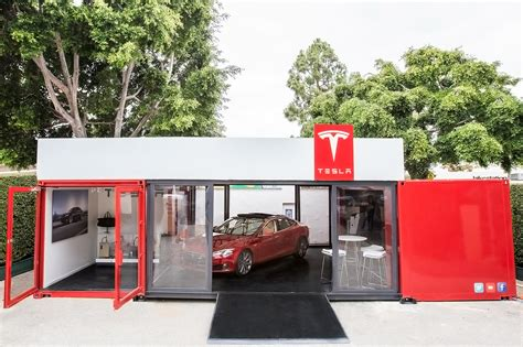 container store tesla plans pop up stores in posh locales fortune