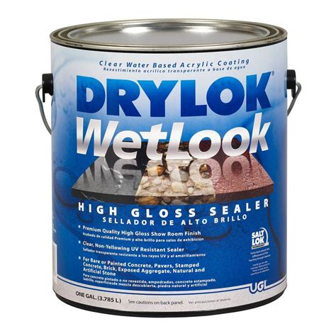 Cat Drylok Waterproof 1 Quart varathane 1 qt clear semi gloss water based outdoor spar urethane 250141h the home depot