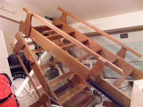 electric loft ladders the electric loft ladder company
