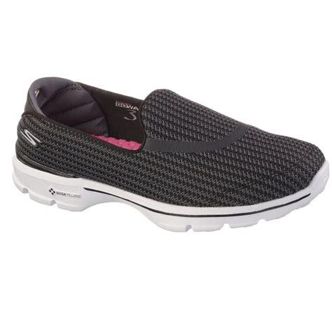 sketcher slip on sneakers skechers go walk 3 slip on lightweight womens