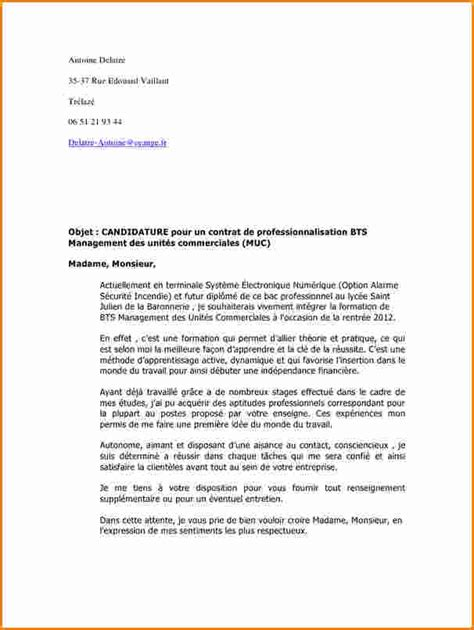 Lettre De Motivation Stage College 15 Lettre De Motivation Stage En Entreprise Exemple Lettres