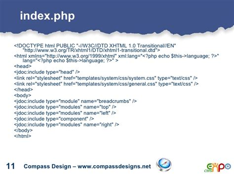 public html themes default main index php denver cms expo creating css template