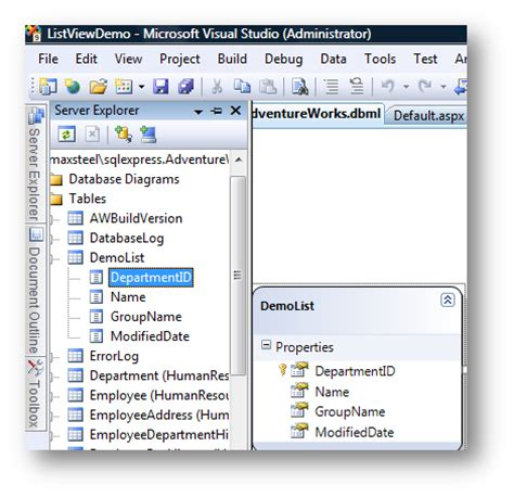 listview layout template exle bulk insert update and delete with asp net listview