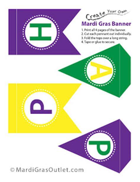 printable mardi gras banner party ideas by mardi gras outlet celebrate mardi gras