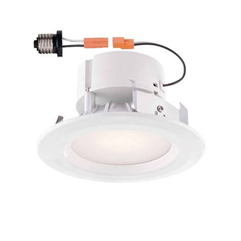 4 inch recessed lighting trim commercial electric white recessed led trim 4 inch the