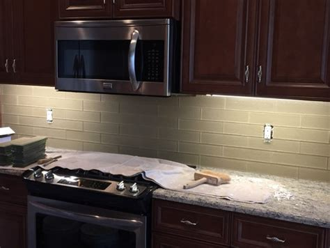 Grouting Kitchen Backsplash Kitchen Backsplash Grout Or No Grout