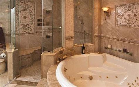 luxury master bathrooms sitting area   shower