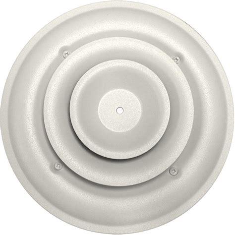 circular ceiling vent covers speedi grille 6 in ceiling air vent register white