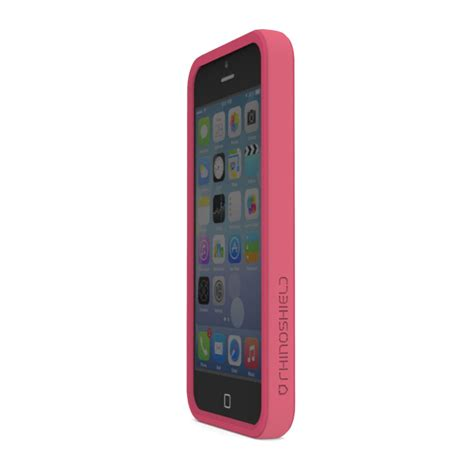 Rhino Shield Crash Guard Bumper Only For Iphone 7 Plus rhino shield crash guard bumper for iphone 5 5s pink aa0100105