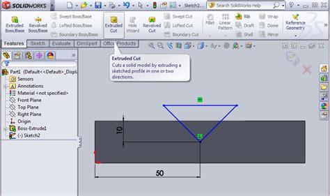 tutorial dasar solidwork machining belajar solidwork dasar 1 solidworks basic 1