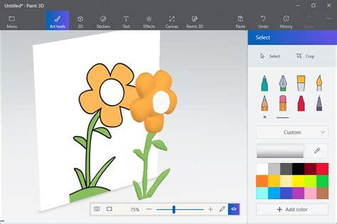 paint 3d how to turn a 2d drawing into 3d art in paint 3d