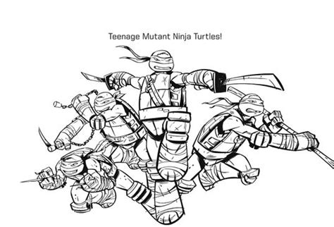 nick ninja turtles coloring pages f 228 rben schildkr 246 ten and papier on pinterest