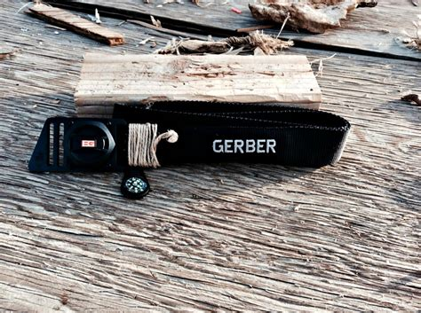 gerber survival belt grylls survival belt be prepared and look at