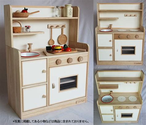 Childrens Wooden Kitchen Furniture by 25 Unique Wooden Toy Kitchen Ideas On Pinterest Diy