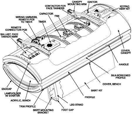 tanning bed wiring diagram 26 wiring diagram images