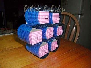 membuat kerajinan laci membuat laci mini dari sisa kardus dan kaleng susu ragam