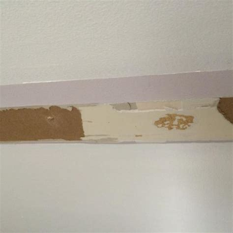 torn chip drywall paint pics help doityourself