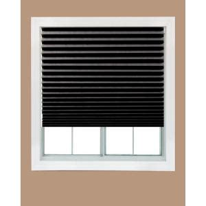Paper Shades For Windows Decorating Redi Shade Black Out Paper Window Shade 36 In W X 72 In L 3203094 The Home Depot
