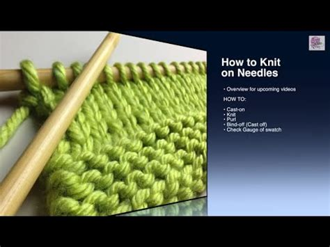 how to cast on knitting for beginners how to knit cast on beginner with closed captions