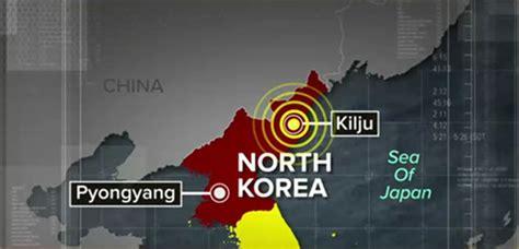 earthquake north korea natural earthquake in north korea strikes near nuclear
