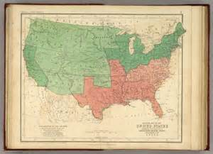 map of the united states rogers henry darwin