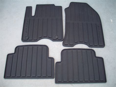 Floor Mats Ford Focus by 2010 Ford Focus All Weather Floor Mats Black 4 Set