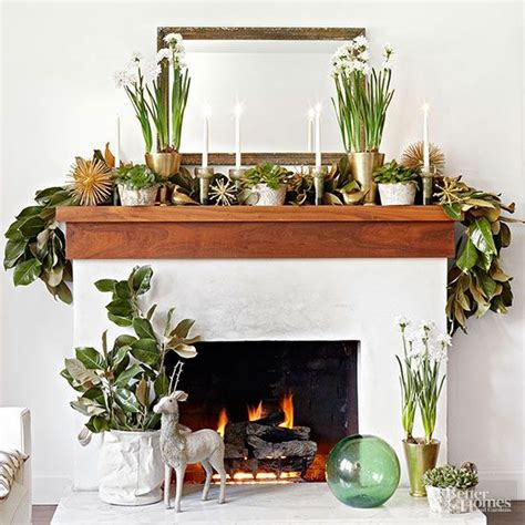 Mantel Decorations Garland by Beautiful Garlands For Your Mantel Thanksgiving
