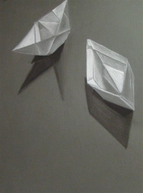 Origami Lesson Plans - the smartteacher resource charcoal origami drawing