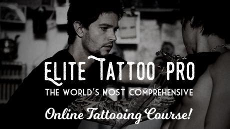 online tattoo training courses elite tattoo pro online tattooing course books