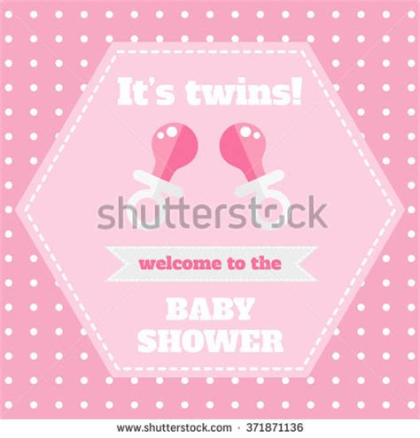 welcome card design template baby shower stock vector 590768564