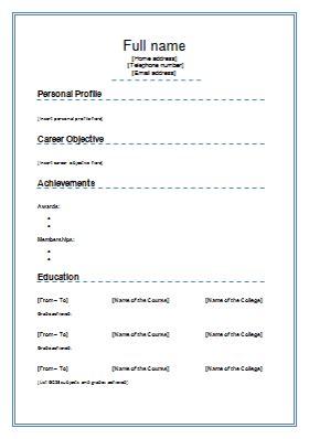science academic cv science cv template cv templat science cv
