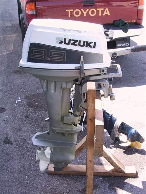 Suzuki Boat Motors Used Suzuki 9 9 Hp Outboard Boat Motor Suzuki Outboards
