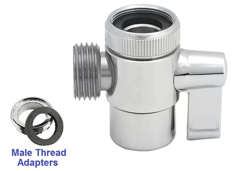 Brass Faucet Diverter Valve  1/2'' Hose Threads