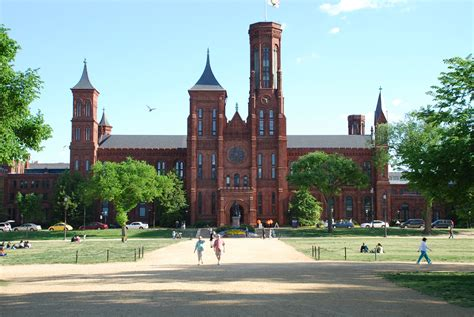 in dc smithsonian castle on the national mall travel wallpaper