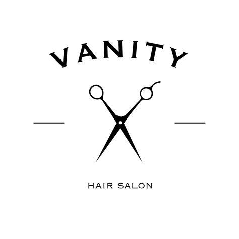vanity hair salon logo selected works