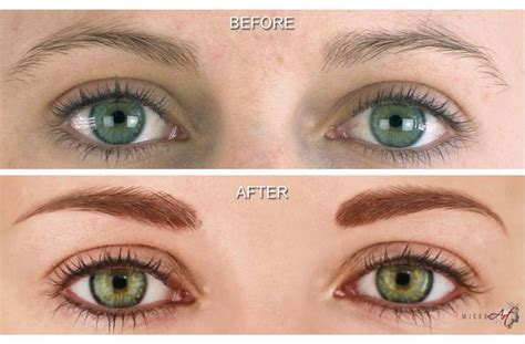 tattoo with eyeliner before after photos of microart semi permanent makeup