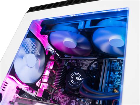 Nzxt Hue Black White By Aconx nzxt hue rgb led lighting kit launched modders inc