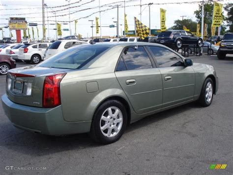 2004 cadillac cts sedan 2004 silver green cadillac cts sedan 28723839 photo 6