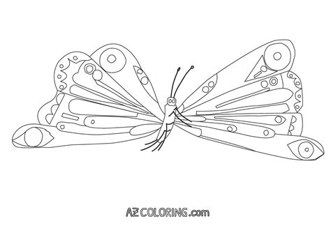 caterpillar butterfly coloring page pretmic com very hungry caterpillar butterfly coloring page www