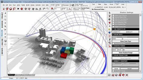 sun path diagram sketchup one year sun shadow range study autodesk community