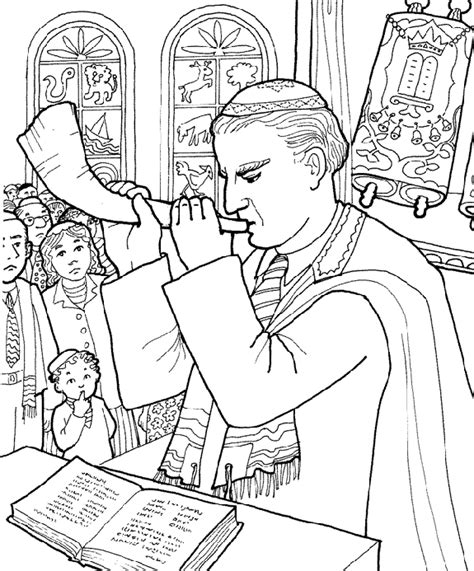 Jewish Coloring Pages On Pinterest Coloring Pages Rosh Shabbat Coloring Pages