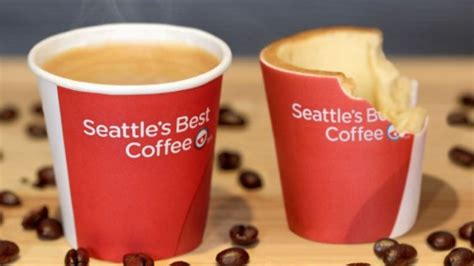 Coffee Kfc now you can simply gulp the cup after coffee