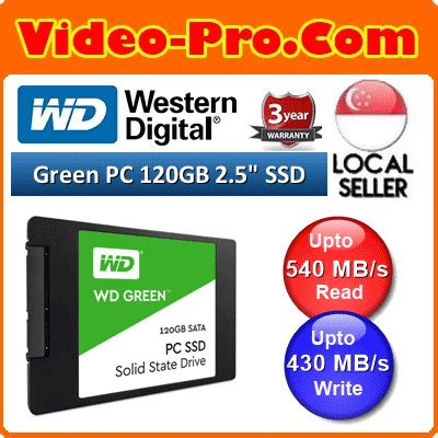 Ssd Wd Green 240gb 2 5inch qoo10 wd green pc ssd 240gb 120gb 2 5inch sata iii ssd
