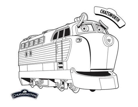 chatsworth  chuggington coloring page