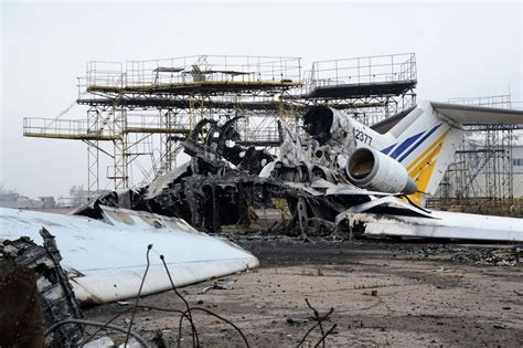 photos the battle for donetsk airport al jazeera america