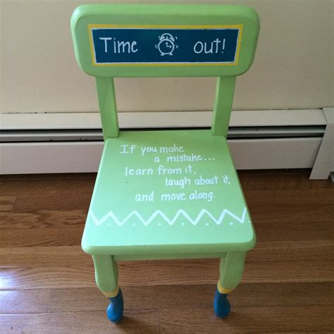 Diy Time Out Stool by Diy Time Out Chair Finding Silver Linings