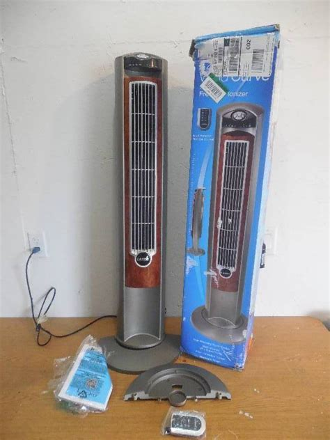 lasko wind curve fan with fresh air ionizer home sweet home improvement auction in onamia minnesota