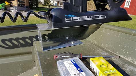bow boat mount homemade bow mount trolling motor bracket homemade ftempo